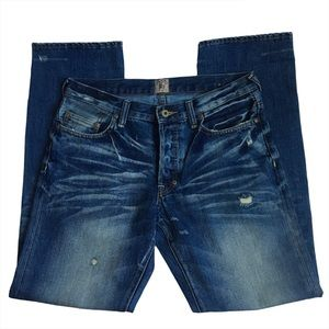 PRPS Barracuda Button fly Distressed  Jeans 31
